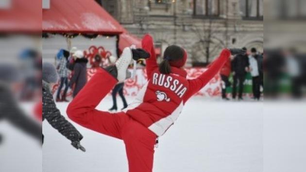 Moscú, un paraíso para los amantes del patinaje
