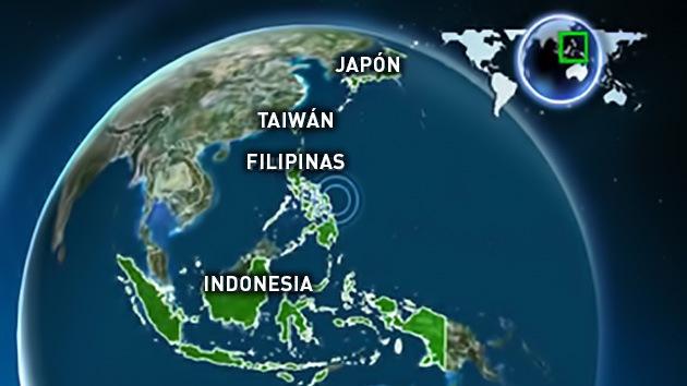 Un sismo de 7.6 grados sacude las costas de Filipinas