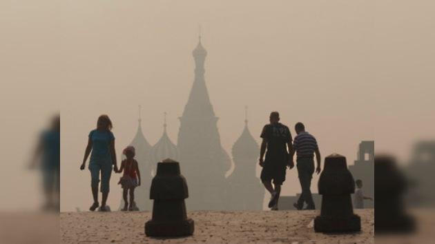 Moscú sigue 'ahumándose'