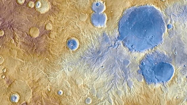 ¿De dónde provienen los valles marcianos?
