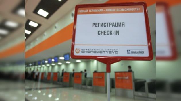 El aeropuerto de Moscú cambia las denominaciones de sus terminales