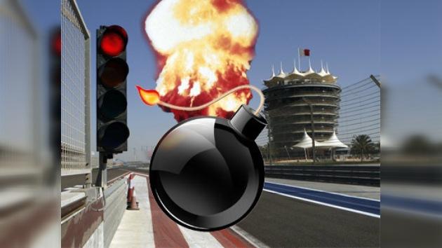 Miembros del equipo Force India F1 se salvan de una explosión en Bahréin