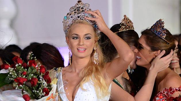 Fotos: La checa Teresa Fajksova se corona Miss Tierra 2012