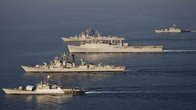 La India planea contar con 200 buques de guerra en los próximos 10 años