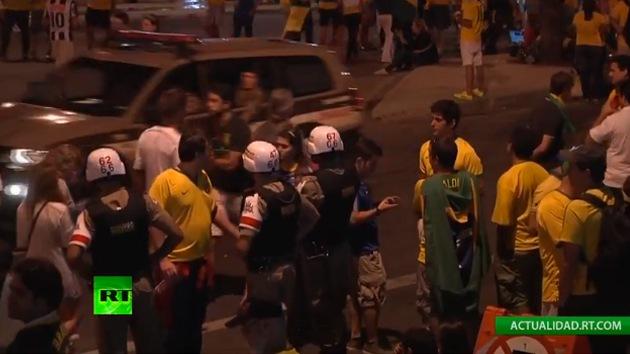 Fotos: Las calles de Brasil tras el partido de su selección contra Alemania