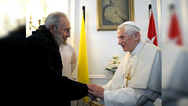 """Fidel Castro: """"Para compartir la amistad no hay que compartir las creencias"""""""