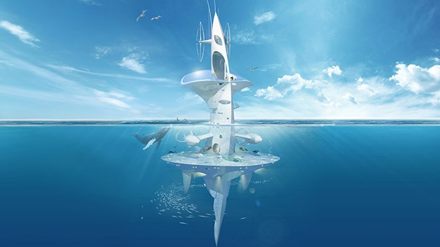 Asoma la cabeza el proyecto de 'ciudad flotante' que surcará los océanos