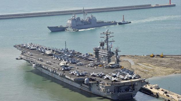 EE.UU. y Corea del Sur inician sus maniobras con intervención de un portaaviones nuclear