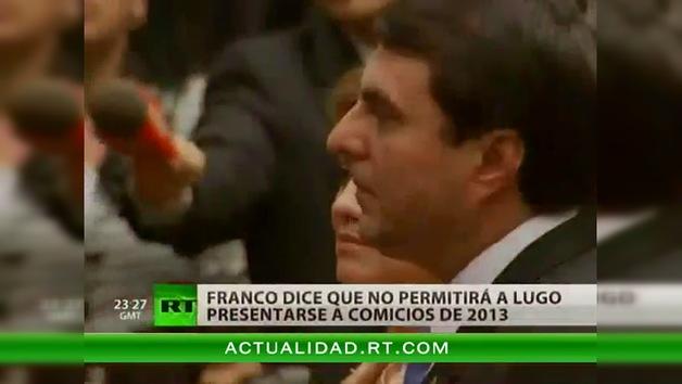 Paraguay no invitará a Unasur a observar las elecciones de 2013