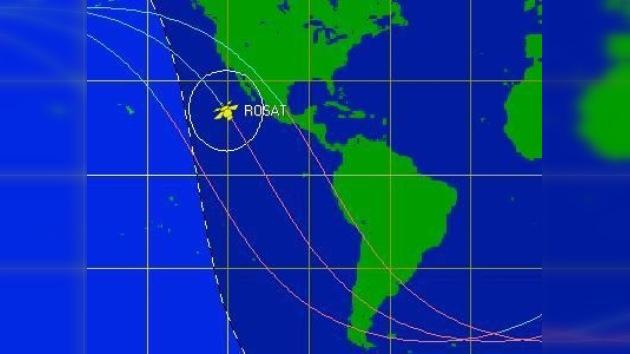 Un satélite alemán podría caer en la costa mexicana en pocas horas