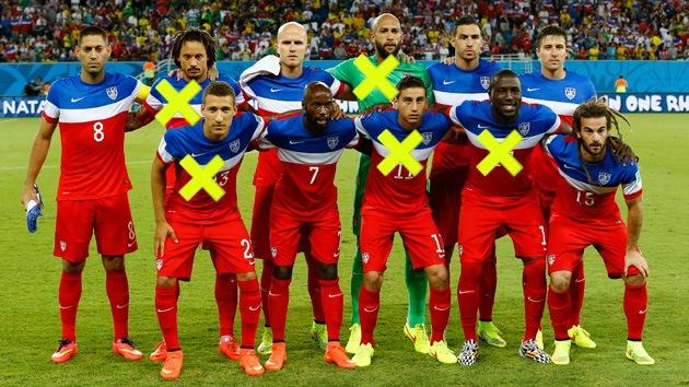 ¿Cómo serían los equipos del Mundial si los 'inmigrantes' no pudieran jugar?