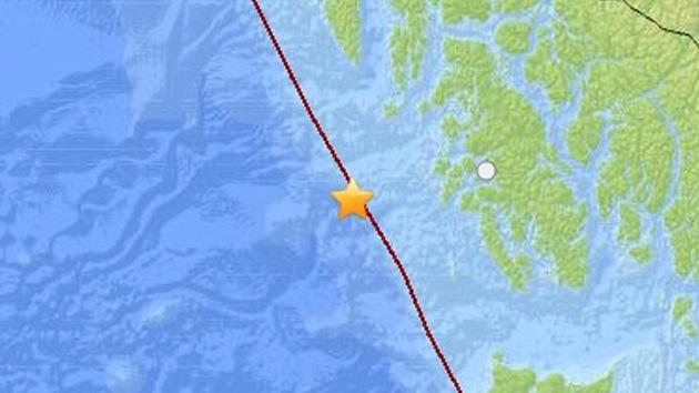 Un terremoto de 7,5 grados sacude las costas de Alaska