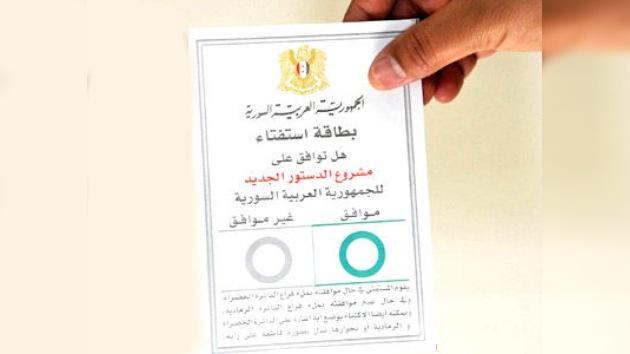 Siria: la Constitución de la discordia