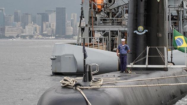 Brasil construye un submarino nuclear para proteger su petróleo en alta mar