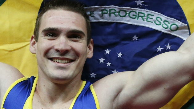 Brasil conquista para Latinoamérica la primera medalla olímpica en gimnasia
