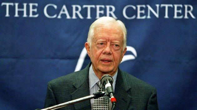 "Jimmy Carter: ""EE.UU. es el belicista n.º 1"""