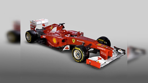 Ferrari presenta el F2012, su monoplaza para esta temporada de la Fórmula 1