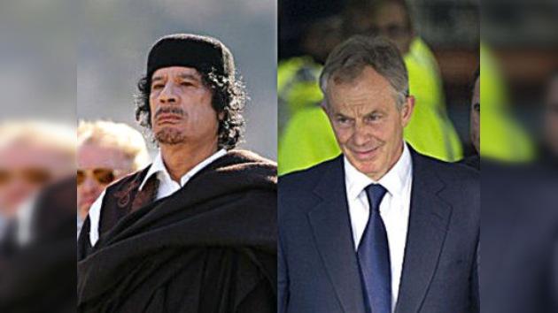 Las conversaciones secretas entre Tony Blair y Gaddafi