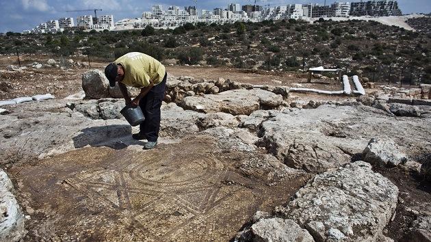 Descubren un monasterio bizantino de hace 1.500 años con prensas industriales