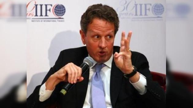Secuelas de la crisis europea durarán décadas, según el secretario del Tesoro de EE. UU.