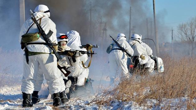 Los 'fusileros del Ártico', la nueva tropa del Ejército ruso