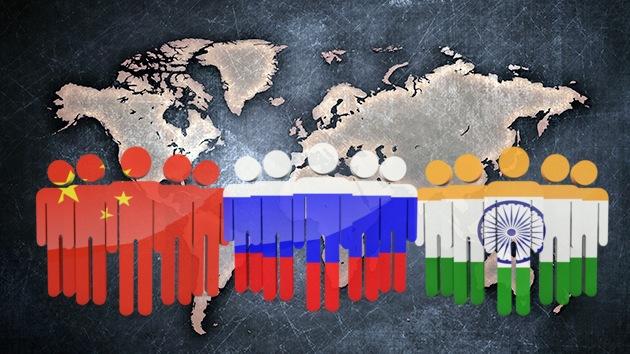 El nuevo orden mundial será creado por China, la India y Rusia