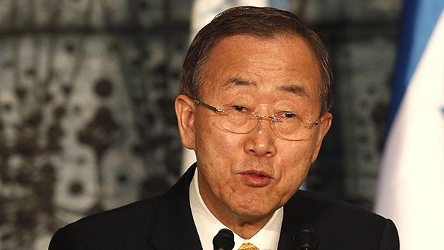 Ban Ki-moon : La situación en Gaza es alarmante, el ataque a centros civiles es inaceptable