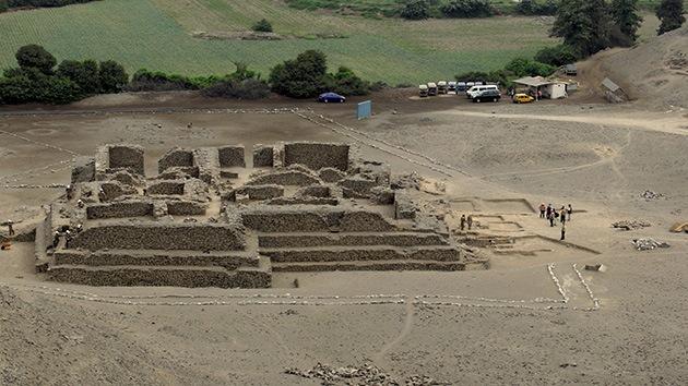 Fotos: Descubren en Perú un templo de 5.000 años de antigüedad