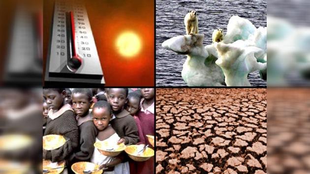 El cambio climático puede causar hambre, enfermedades y sequía