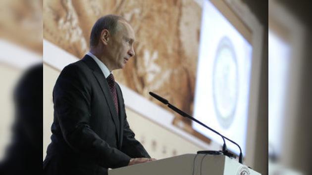 """Putin: """"No a la rivalidad, sí a la colaboración en el Ártico"""""""