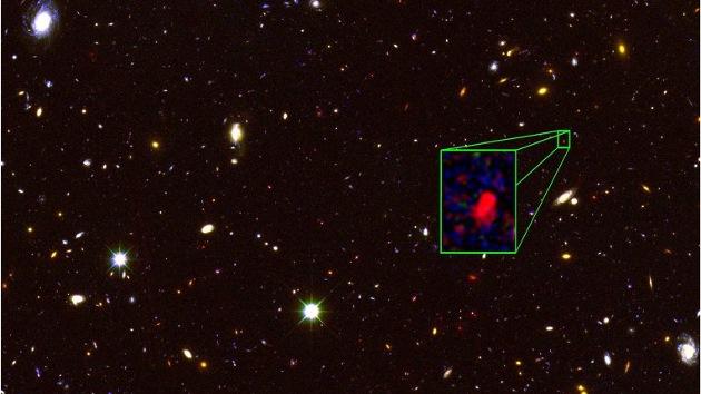 El telescopio Hubble halla la galaxia más antigua y lejana jamás detectada