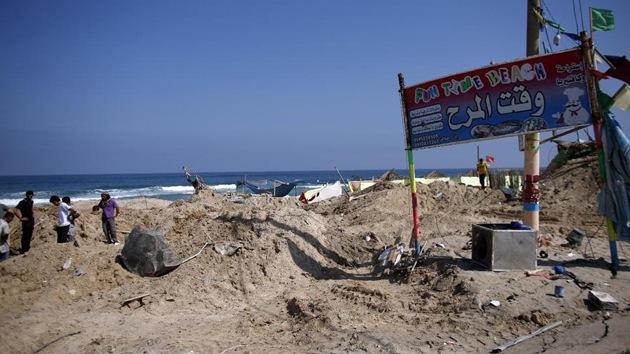 Bombardeos de Israel matan a 9 hinchas en un bar de Gaza durante semifinal del Mundial
