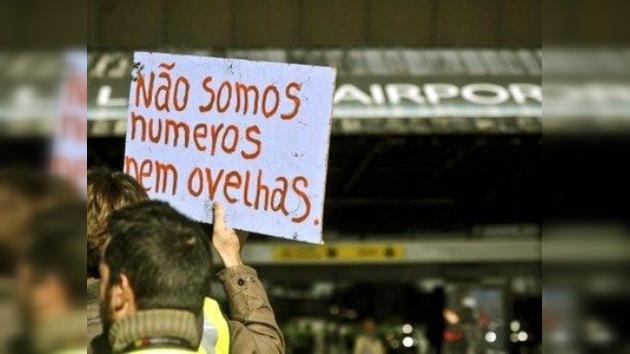 En vivo desde un Portugal 'sin vida' por la huelga