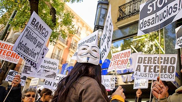 """Banco de España: Los desalojos son un problema """"humanitario"""", no """"hipotecario"""""""