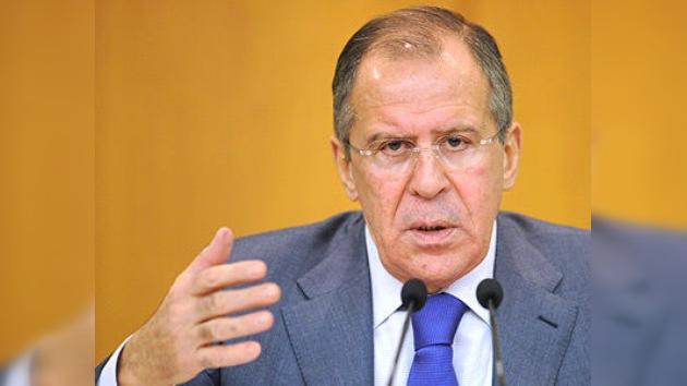 Lavrov: El Consejo de Seguridad nunca aprobará una intervención militar contra Damasco