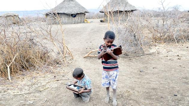 Niños analfabetos de Etiopía logran hackear una tableta en tan sólo 5 meses