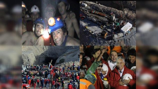 El ingreso a la fama de los mineros rescatados
