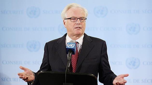 Rusia denuncia el doble rasero del Consejo de Seguridad de la ONU