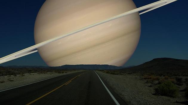 Fotos: Cómo se vería el cielo si otros planetas reemplazaran a la Luna