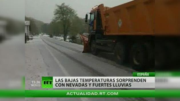 La nieve de mayo sorprende a los españoles
