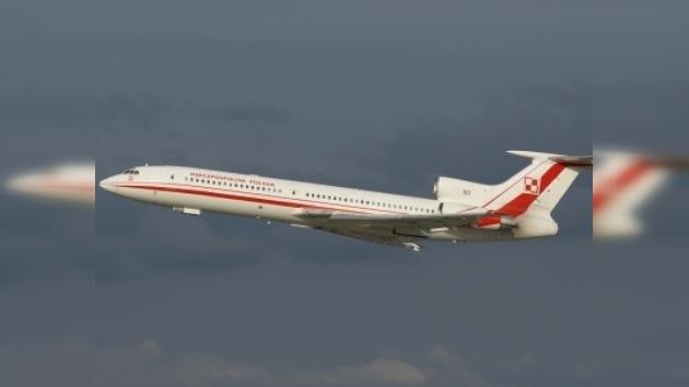 Datos técnicos del Tu-154M siniestrado del mandatario polaco