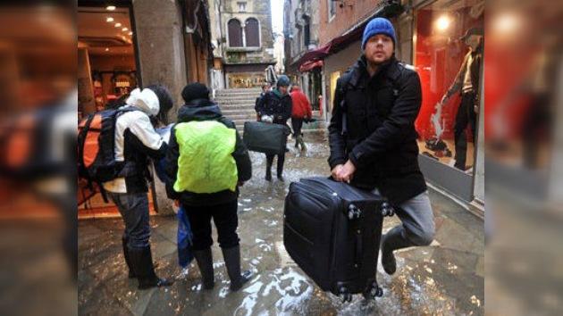 Venecia, amenazada por las inundaciones... de turistas