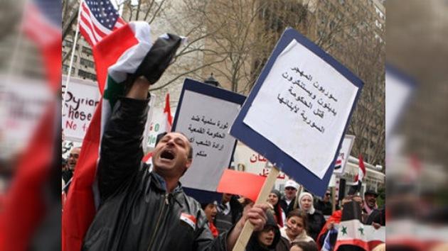 Rusia condena el uso de la violencia contra los civiles sirios
