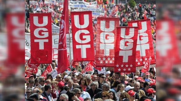 """Los españoles salen a la calle para reclamar """"trabajo, dignidad y derechos"""""""