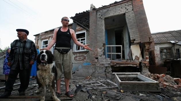 El bombardeo mortal deja varias víctimas entre civiles en Slaviansk
