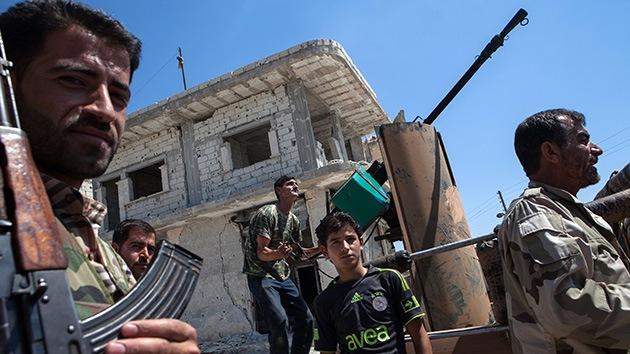 Arsenales de Gaddafi 'resucitan' en manos rebeldes: Maná de armas libias sobre Siria