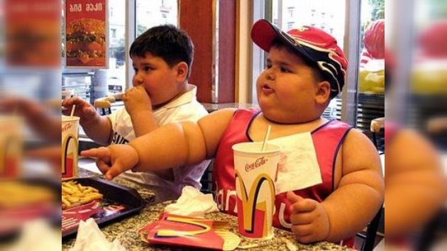 En EE. UU. una epidemia de sobrepeso ataca a los niños
