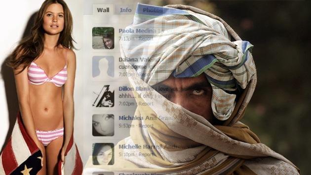 Talibanes se hacen pasar por 'guapas' en Facebook para espiar a soldados