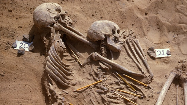 Podrían haber hallado la evidencia de la primera guerra racial en la historia