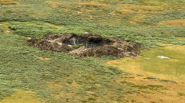 Científicos explican cómo se formó el misterioso foso de Siberia